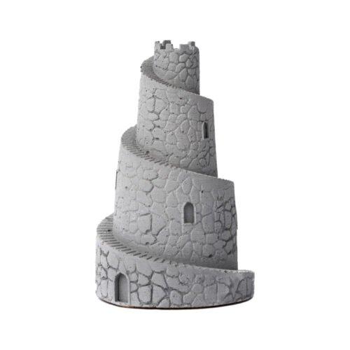 Clădire miniaturală antică obiect decorativ